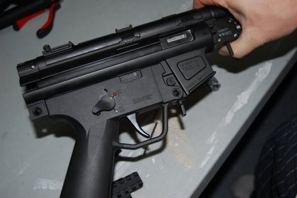 How to Remove the Barrel on a GSG-5 | TechPrepper